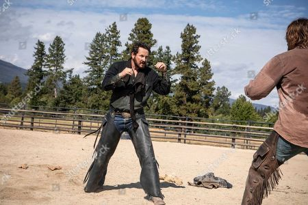 Cole Hauser as Rip Wheeler and Luke Grimes as Kayce Dutton
