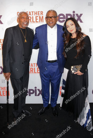 Guest with Forest Whitaker and Nina Yang Bongiovi
