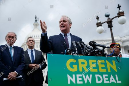 Editorial photo of US Senate Climate Change Task Force press conference, Washington, USA - 17 Sep 2019