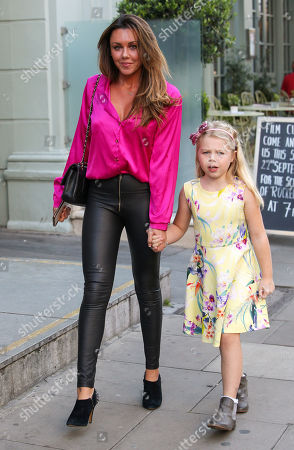 Stock Picture of Michelle Heaton and Faith Hanley
