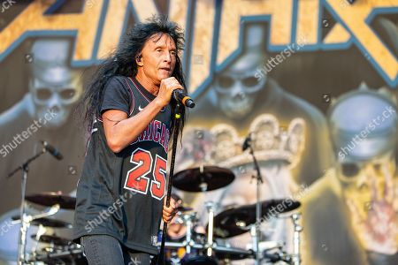 Stock Photo of Anthrax - Joey Belladonna