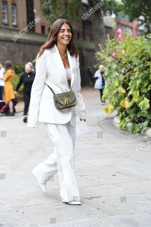 Editorial picture of Street Style, London Fashion Week Spring/Summer 2020, UK - 16 Sep 2019