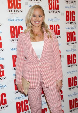 Editorial photo of 'BIG The Musical', Arrivals, Dominion Theatre, London, UK - 17 Sep 2019