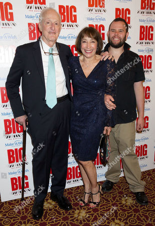 David Shires with Didi Conn and son