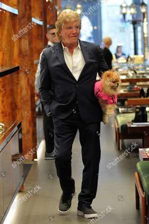 Ken Todd in the Dolce & Gabbana boutique