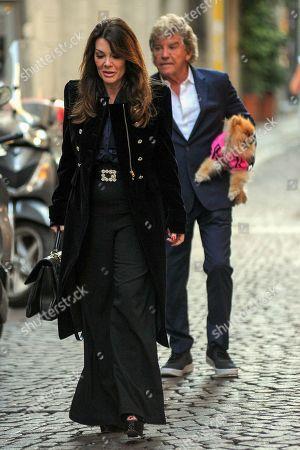 Lisa Vanderpump-Todd and her husband Ken Todd