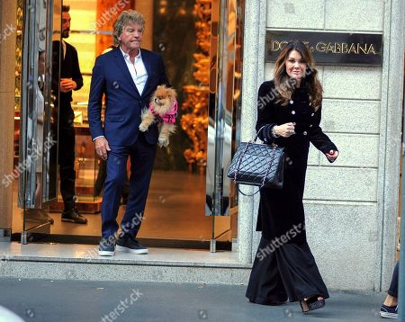 Editorial image of Lisa Vanderpump-Todd out and about, Milan, Italy - 17 Sep 2019