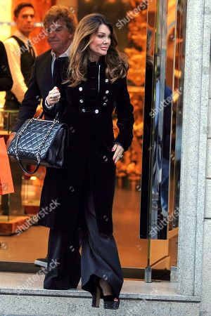 Editorial photo of Lisa Vanderpump-Todd out and about, Milan, Italy - 17 Sep 2019