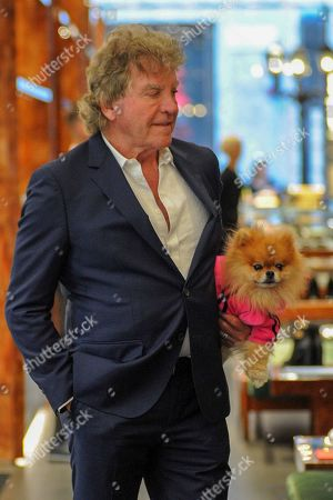 Stock Picture of Ken Todd in the Dolce & Gabbana boutique