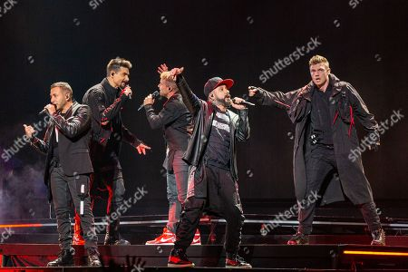 Backstreet Boys - Howie Dorough, Kevin Richardson, Brian Littrell, AJ McLean and Nick Carter