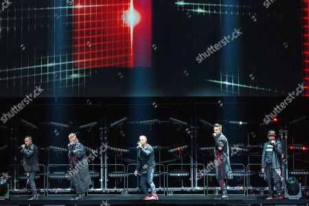Backstreet Boys - Brian Littrell, Nick Carter, Howie Dorough, Kevin Richardson and AJ McLean