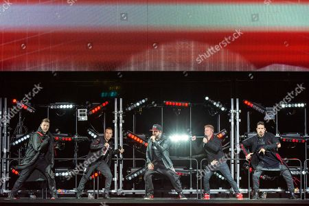 Backstreet Boys - Nick Carter, Howie Dorough, AJ McLean, Brian Littrell and Kevin Richardson