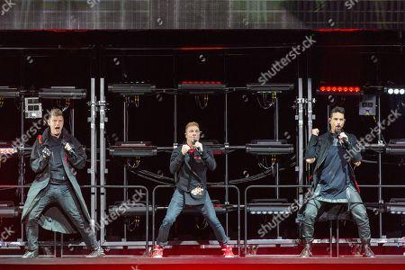 Backstreet Boys - Nick Carter, Brian Littrell and Kevin Richardson