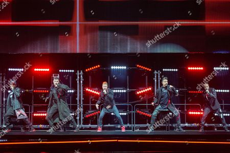 Backstreet Boys - AJ McLean, Nick Carter, Brian Littrell, Kevin Richardson and Howie Dorough