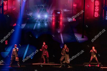 Backstreet Boys - AJ McLean, Kevin Richardson, Nick Carter and Brian Littrell