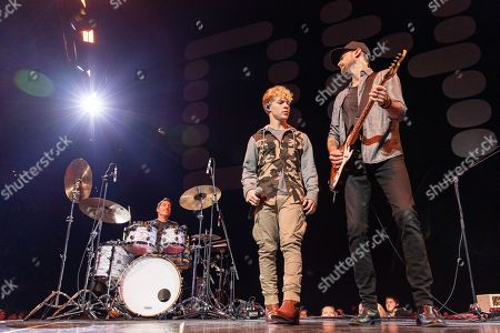 Editorial image of Backstreet Boys in concert at Fiserv Forum, Milwaukee, USA - 11 Sep 2019