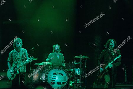 The Raconteurs - Brendan Benson, Patrick Keeler and Jack White