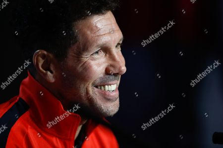 Head coach Diego Simeone