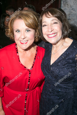 Wendi Peters (Mrs Baskin) and Didi Conn