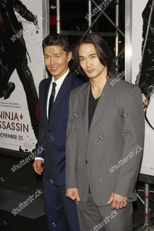 Rick Yune and brother Karl Yune