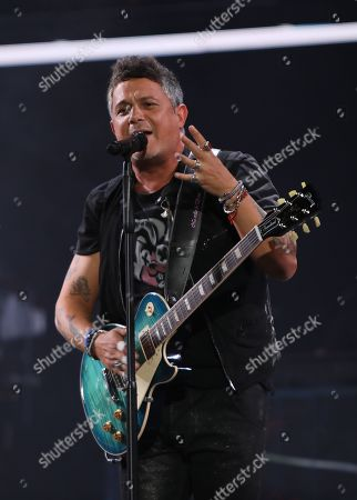 Editorial image of Alejandro Sanz in concert at the American Airlines Arena, Miami, Florida - 07 Sep 2019