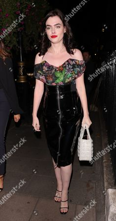 Editorial photo of Vogue Party, Arrivals, Spring Summer 2020, London Fashion Week, UK - 17 Sep 2019