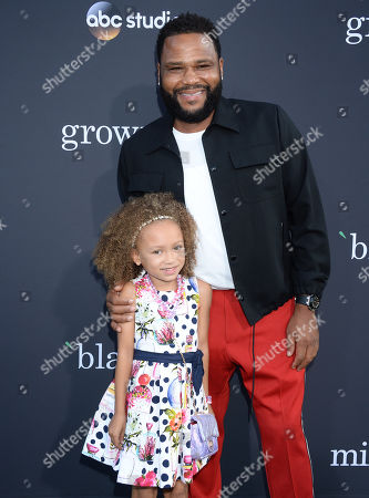 Mykal-Michelle Harris and Anthony Anderson