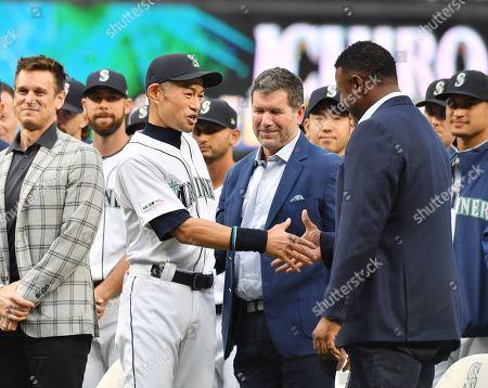 Editorial image of Ichiro Suzuki receives achievement award, Seattle, USA - 14 Sep 2019