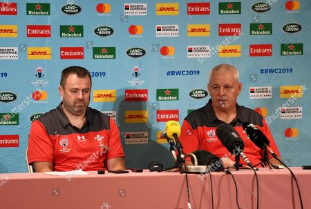 Editorial photo of Wales Rugby Media Interviews - 18 Sep 2019