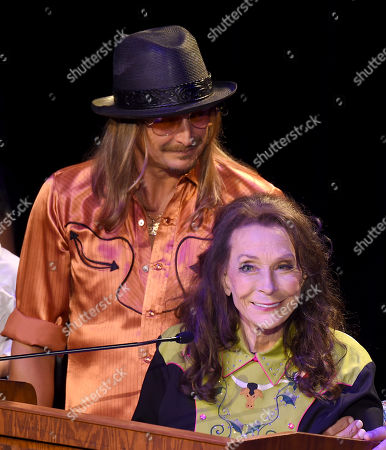 Kid Rock and Loretta Lynn