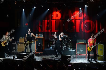 Editorial photo of Bad Religion in concert at Revolution Live, Fort Lauderdale, Florida, USA - 17 Sep 2019