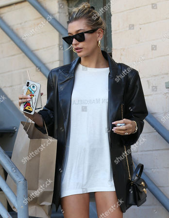 Stock Image of Hailey Bieber