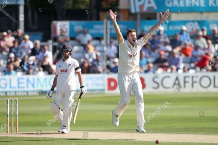 Editorial picture of Essex CCC vs Surrey CCC, Specsavers County Championship Division 1, Cricket, The Cloudfm County Ground, Chelmsford, Essex, United Kingdom - 18 Sep 2019