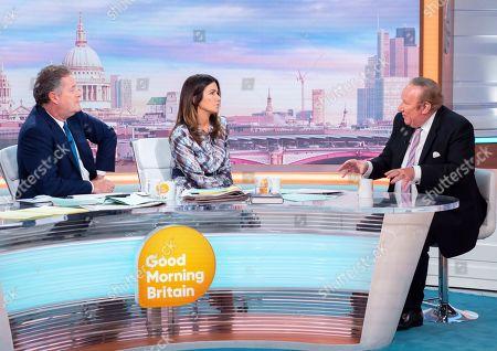 Charlotte Hawkins, Piers Morgan, Susanna Reid and Andrew Neil