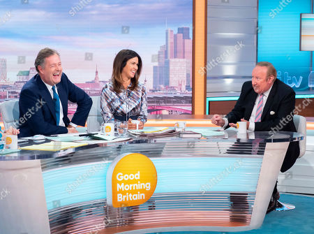 Editorial picture of 'Good Morning Britain' TV show, London, UK - 18 Sep 2019