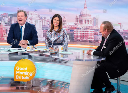 Piers Morgan, Susanna Reid and Andrew Neil