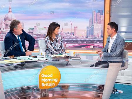 Piers Morgan, Susanna Reid and Michael Owen