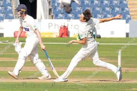Editorial image of Glamorgan County Cricket Club v Leicestershire County Cricket Club, Specsavers County Champ Div 2., Day Three - 18 Sep 2019