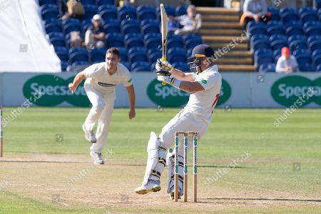 David Lloyd batting during the Specsavers County Champ Div 2 match between Glamorgan County Cricket Club and Leicestershire County Cricket Club at the SWALEC Stadium, Cardiff