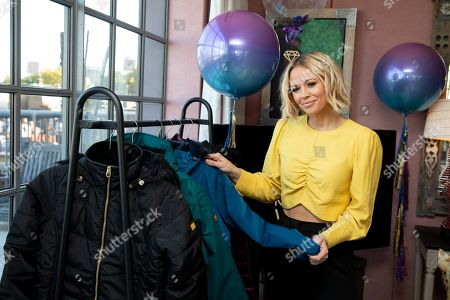 Stock Picture of Kimberley Walsh unveils her AW19 collaboration with Regatta Great Outdoors.
