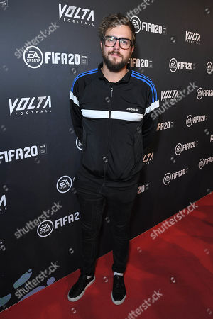 Iain Stirling at the EA SPORTS FIFA 20 World Premiere. FIFA 20 is available from September 27th.