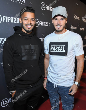 Jeremy Lynch and Billy Wingrove at the EA SPORTS FIFA 20 World Premiere. FIFA 20 is available from September 27th.