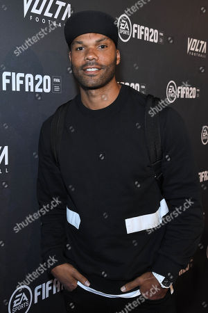 Stock Picture of Joleon Lescott at the EA SPORTS FIFA 20 World Premiere. FIFA 20 is available from September 27th