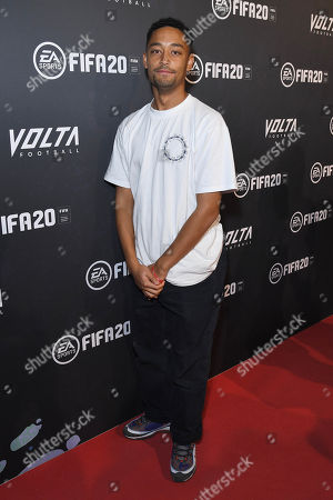 Loyle Carner at the EA SPORTS FIFA 20 World Premiere. FIFA 20 is available from September 27th.