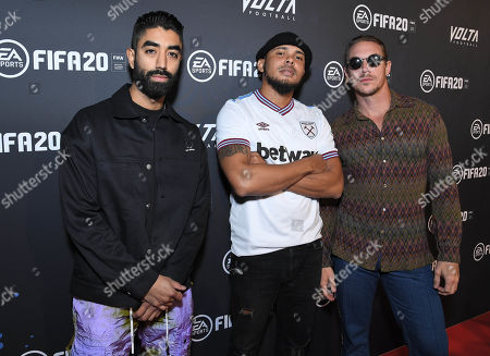 Stock Picture of Diplo and Walshy Fire of Major Lazer at the EA SPORTS FIFA 20 World Premiere. FIFA 20 is available from September 27th.