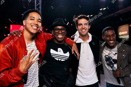 Ian Wright, Kaka and Harry Pinero at the EA SPORTS FIFA 20 World Premiere. FIFA 20 is available from September 27th