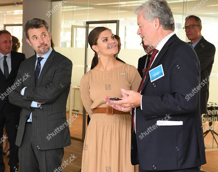 Crown Princess Victoria and Crown Prince Frederik visited the House of Green