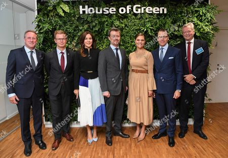 Sweden's Crown Princess Victoria and Prince Daniel together with Denmark's Crown Prince Frederik and Crown Princess Mary visited the House of Green