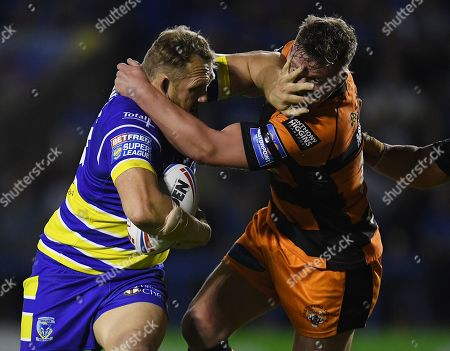 Editorial picture of Warrington Wolves v Castleford Tigers, Betfred Super League, Play-Off, Rugby League, Halliwell Jones Stadium, UK - 19 Sep 2019