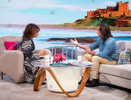 Editorial image of 'Lorraine' TV show, London, UK - 18 Sep 2019